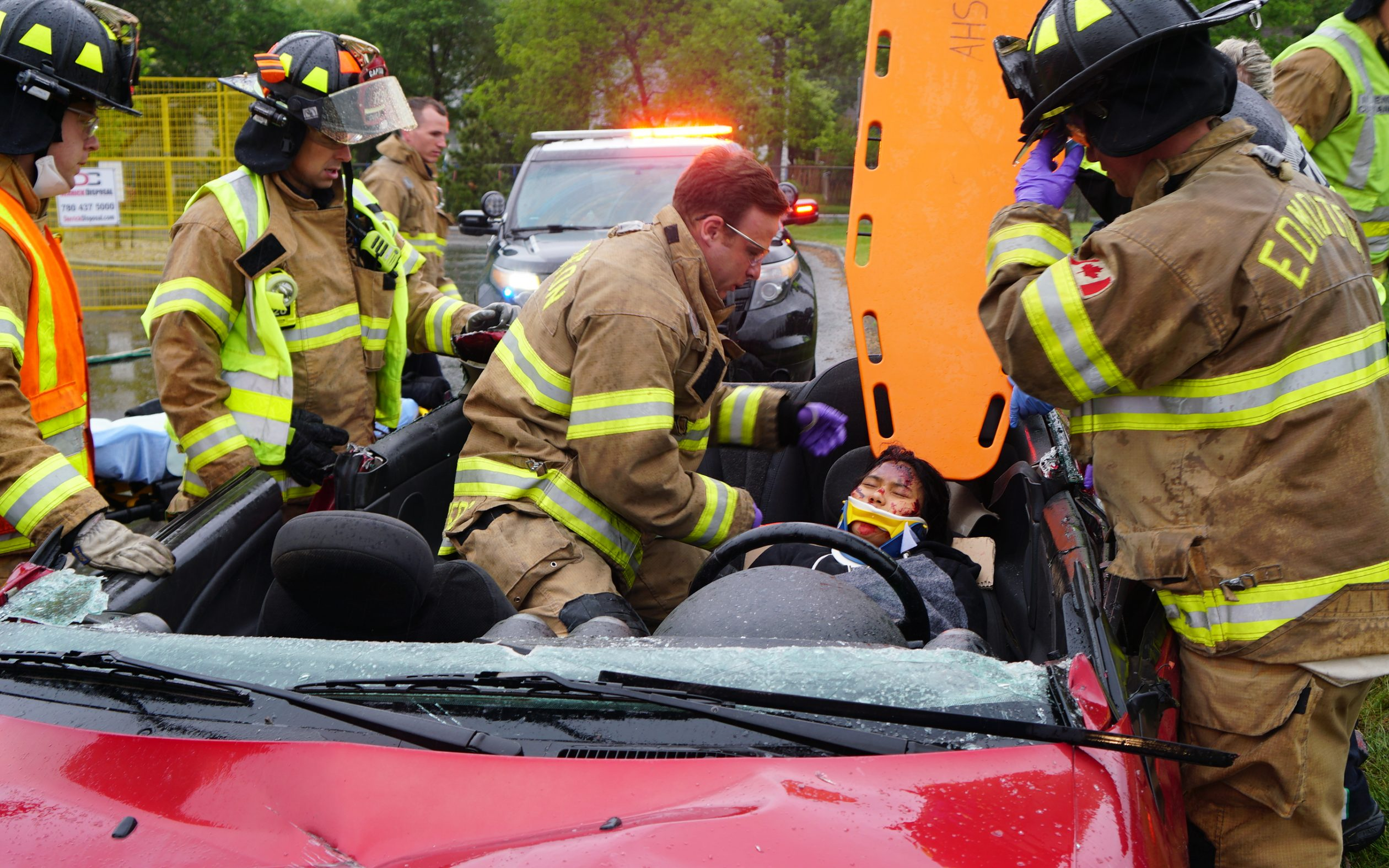 Simulated Car Crash Prompts Sober Thoughts In Students About Drunk