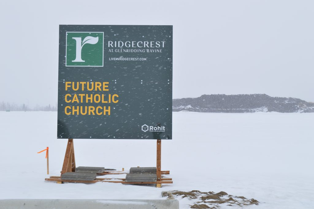 Volunteers embrace vision for new parish in southwest Edmonton