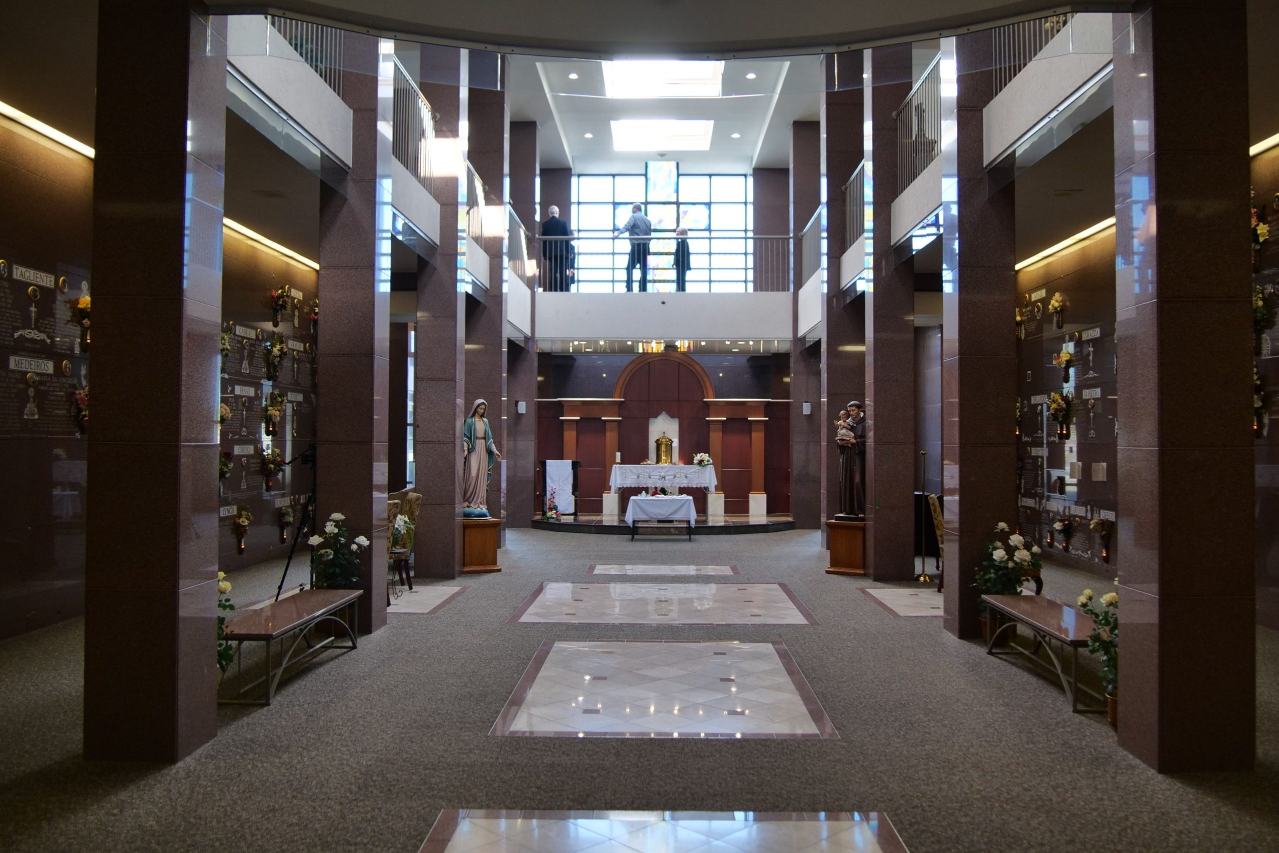 Holy Cross Mausoleum expansion enables improved services for grieving families