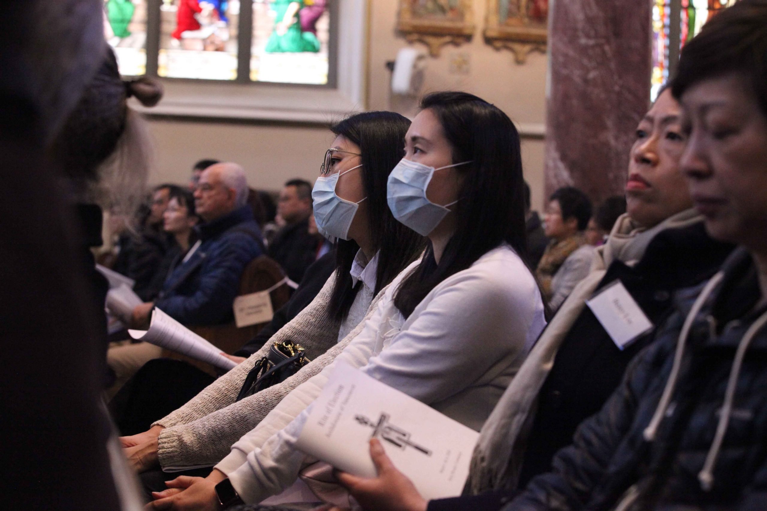 Vancouver's COVID-19 guidelines on Mass emphasize joy, hygiene and brevity